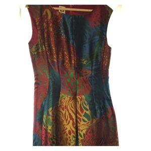 unique  size 10 tea dress Ann Klein
